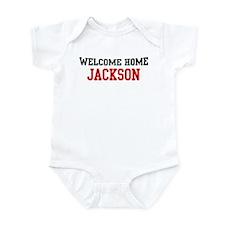 Welcome home JACKSON Infant Bodysuit