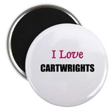I Love CARTWRIGHTS Magnet