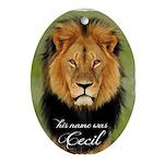 Cecil Oval Ornament