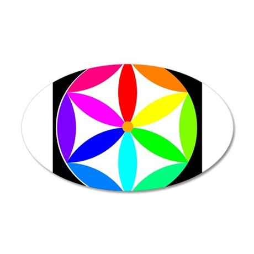 Pinwheel Colors Wall Decal