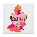 Princess Gabriela Tile Coaster
