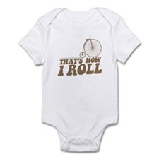 How I Roll PF Infant Bodysuit