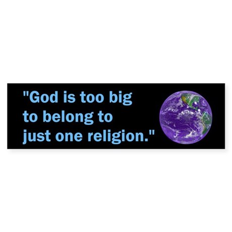 Big God I Bumper Sticker