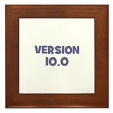 Version~10.0 Framed Tile