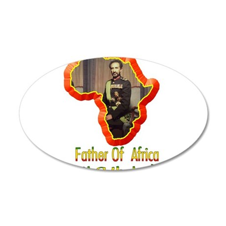 Father of Africa Jah Wall Decal