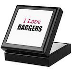 I Love BAGGERS Keepsake Box