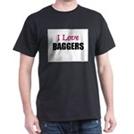 I Love BAGGERS Dark T-Shirt
