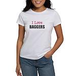 I Love BAGGERS Women's T-Shirt