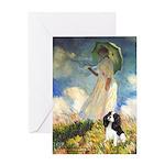Umbrella / Tri Cavalier Greeting Card