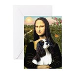 Mona's Tri Cavalier Greeting Cards (Pk of 20)