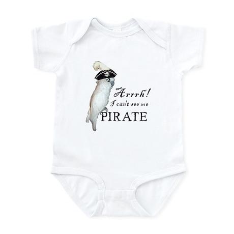 Pirate Cockatoo Infant Bodysuit