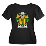 Galarza Family Crest Women's Plus Size Scoop Neck
