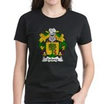 Galarza Family Crest Women's Dark T-Shirt