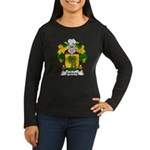 Galarza Family Crest Women's Long Sleeve Dark T-Sh