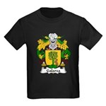 Galarza Family Crest Kids Dark T-Shirt
