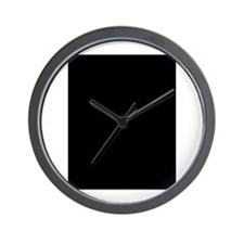 Will Work for Change Wall Clock