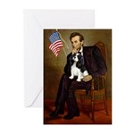 Lincoln & Tri Cavalier Greeting Cards (Pk of 20)