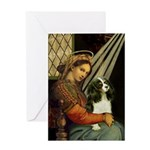 Madonna & Tri Cavalier Greeting Card