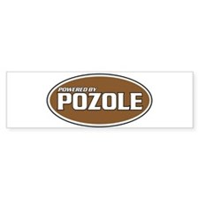 Powered By Pozole Bumper Bumper Sticker