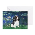 Lilies (5) & Tri Cavalier Greeting Cards (Pk of 20