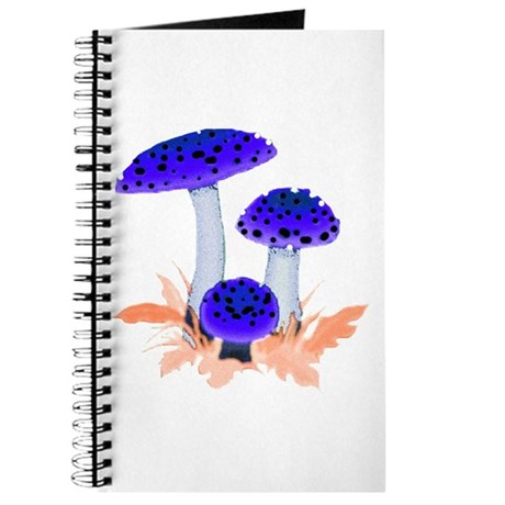 Blue Mushrooms Journal