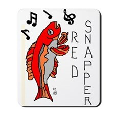 Red Snapper Mousepad