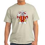 Feijoo Family Crest Light T-Shirt