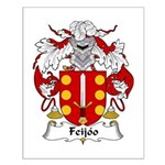 Feijoo Family Crest Small Poster