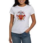 Feijoo Family Crest Women's T-Shirt