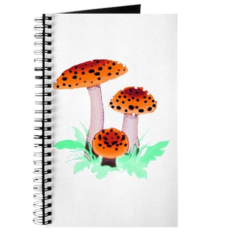 Orange Mushrooms Journal
