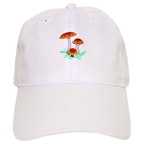 Orange Mushrooms Cap