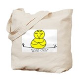 """Yoga Chick"" Tote Bag"