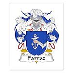 Farraz Family Crest Small Poster