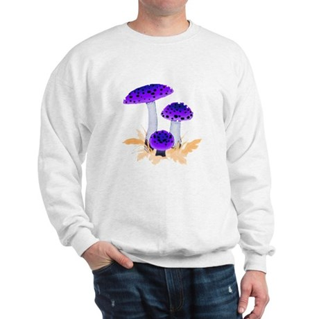 Purple Mushrooms Sweatshirt