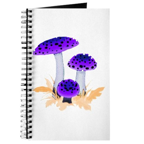 Purple Mushrooms Journal
