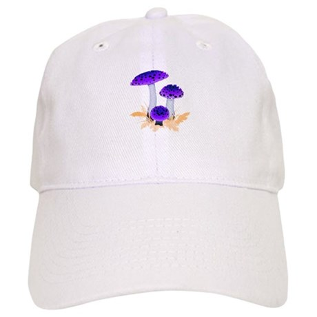 Purple Mushrooms Cap