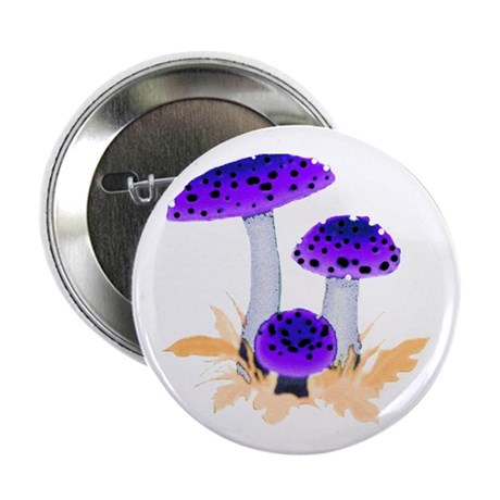 "Purple Mushrooms 2.25"" Button (100 pack)"