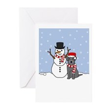 Schnauzer Season's Best Greeting Cards (Pk of 10)
