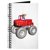 Red Monster Truck Journal