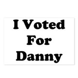 Voted For Danny Postcards (Package of 8)