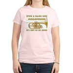 With a Name Like Mellophone Women's Light T-Shirt