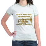 With a Name Like Mellophone Jr. Ringer T-Shirt