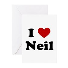 I Heart Neil Greeting Cards (Pk of 10)
