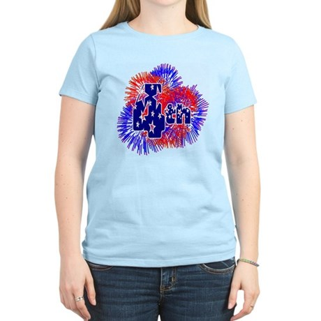 Fourth of July Women's Light T-Shirt