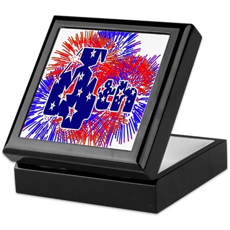 Fourth of July Keepsake Box