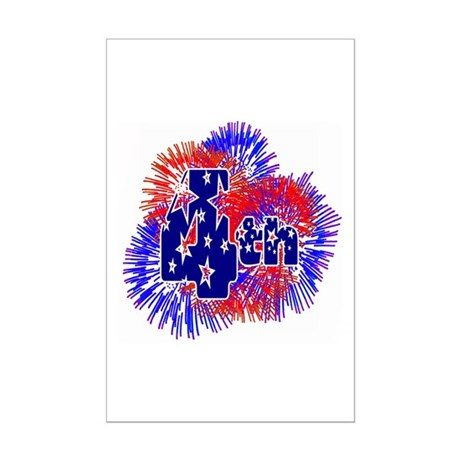 Fourth of July Mini Poster Print