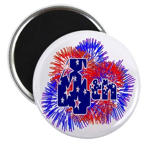 "Fourth of July 2.25"" Magnet (100 pack)"