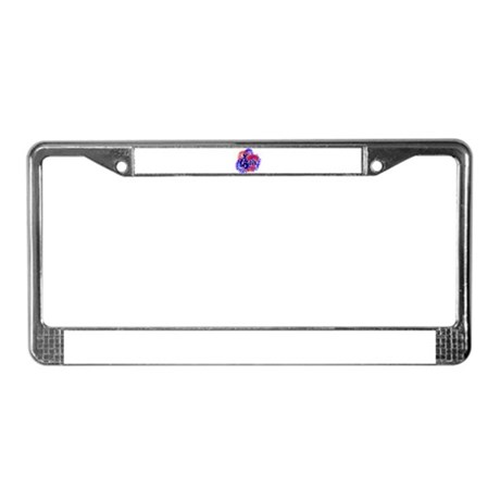 Fourth of July License Plate Frame
