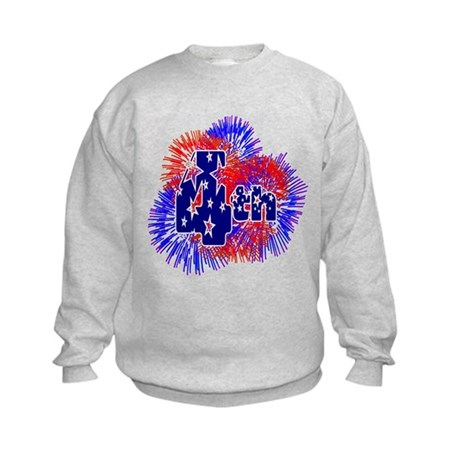 Fourth of July Kids Sweatshirt