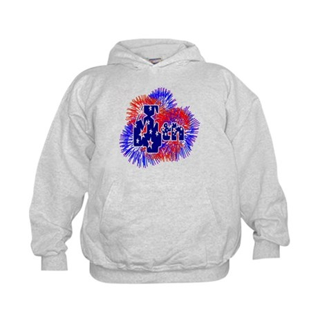 Fourth of July Kids Hoodie